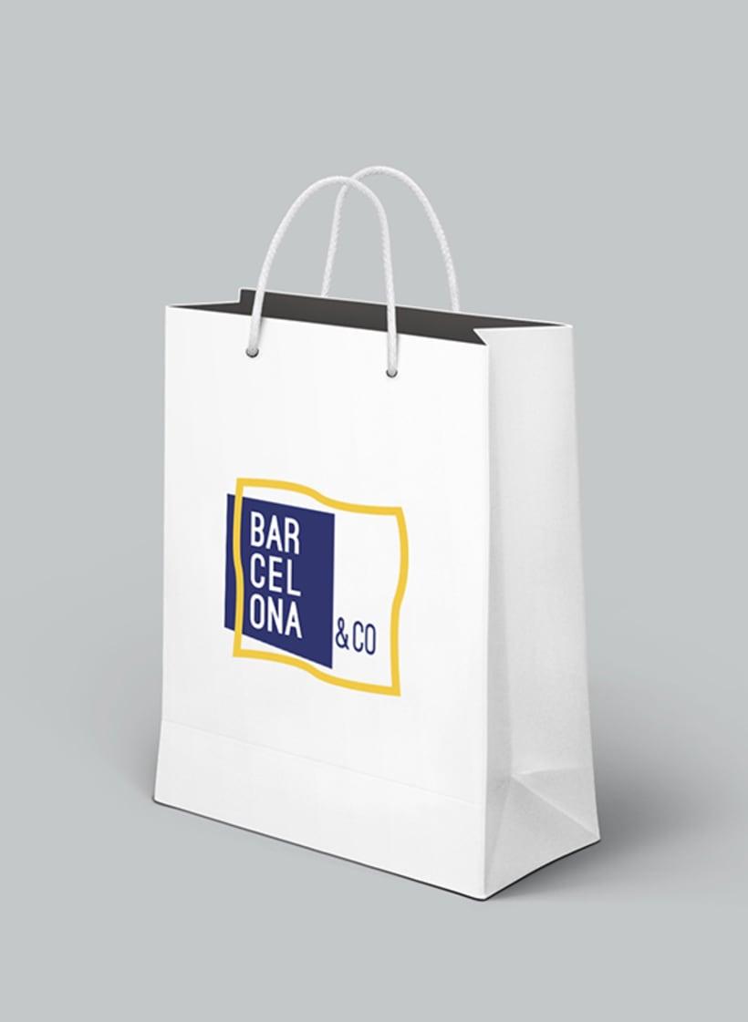 Proyecto imagen corporativa Barcelona&Co 5