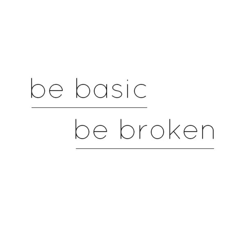 broken basics 0