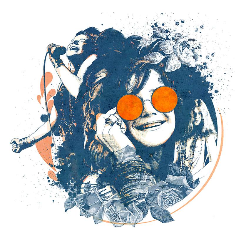 Yorokobu // Rock´n´Draw / Janis Joplin 0