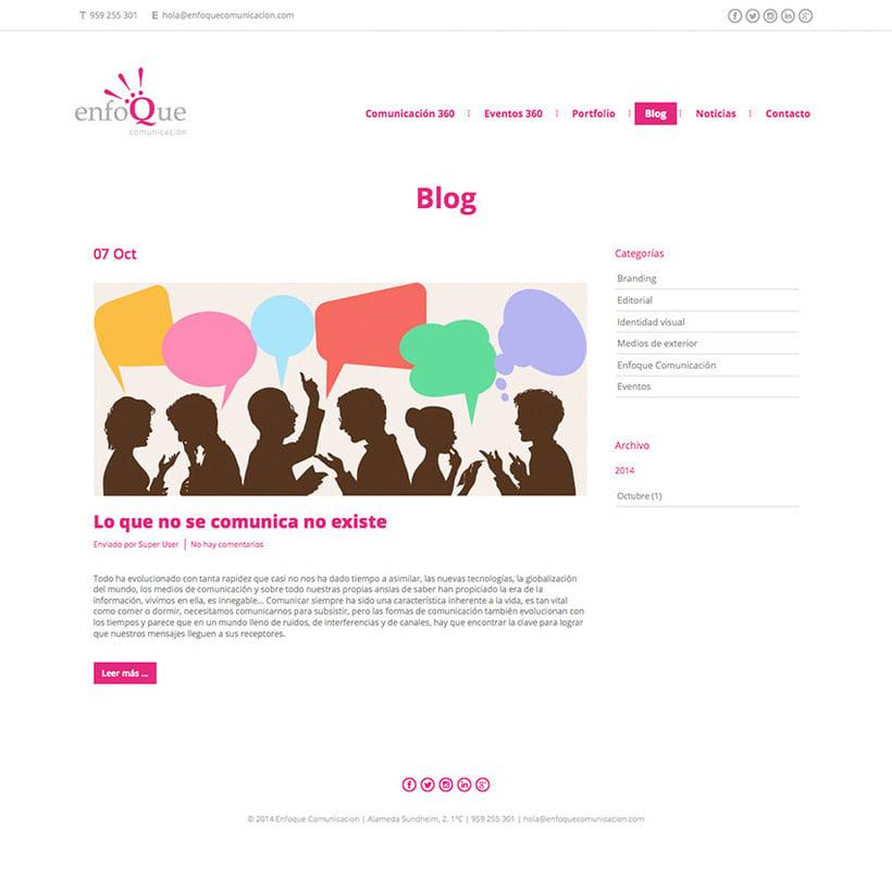 Enfoque - Web 5
