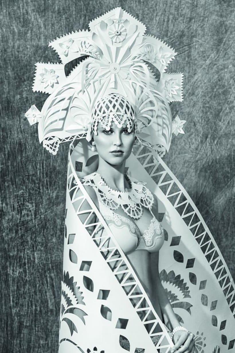 Asya Kozina, maestría para convertir el papel en arte  7