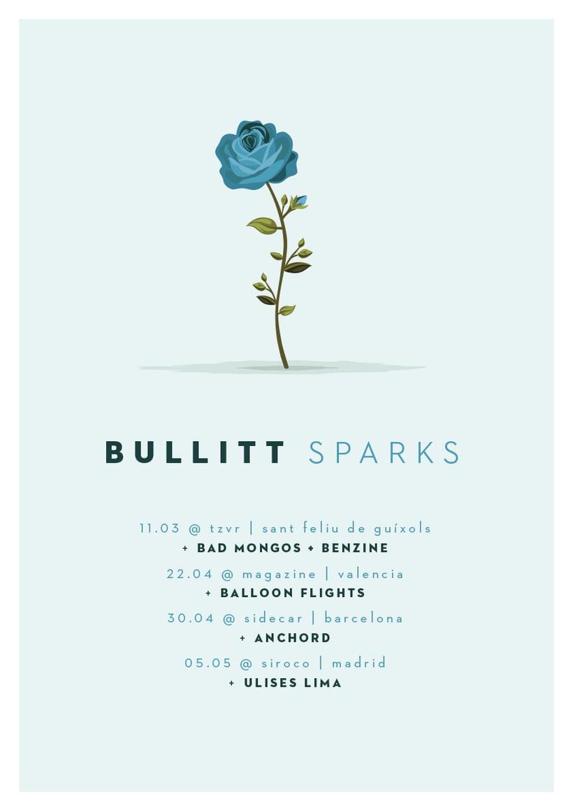 Cartel BULLITT comeback tour -1