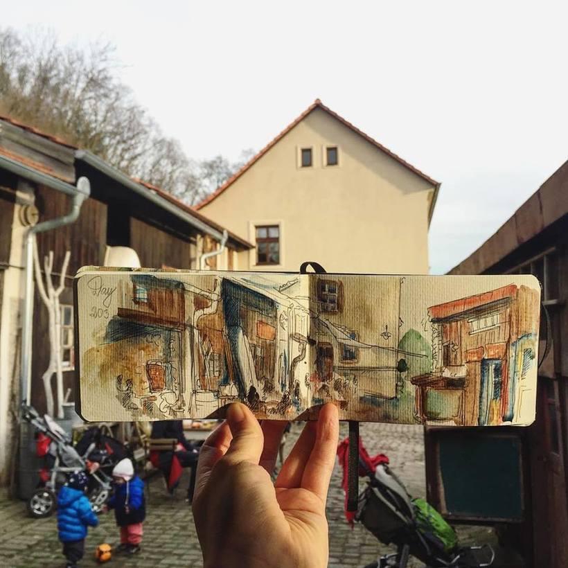 El mundo intervenido por el arte de Ieva Ozola  5