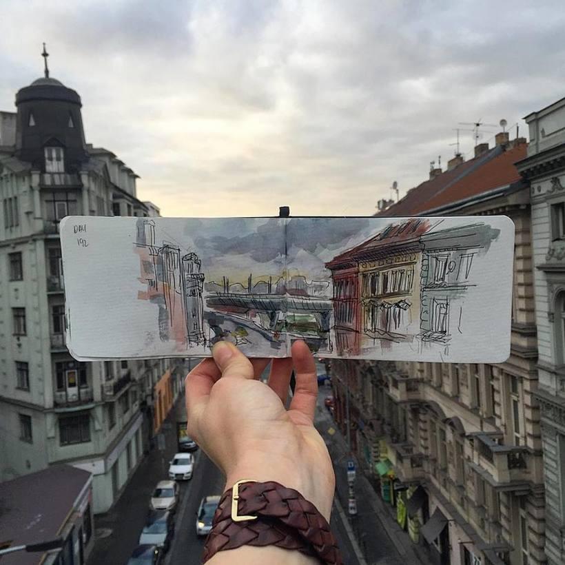 El mundo intervenido por el arte de Ieva Ozola  6