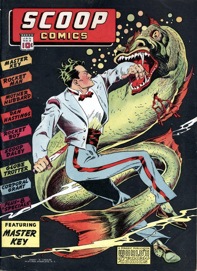Descarga gratis miles de cómics clásicos del Digital Comic Museum 6