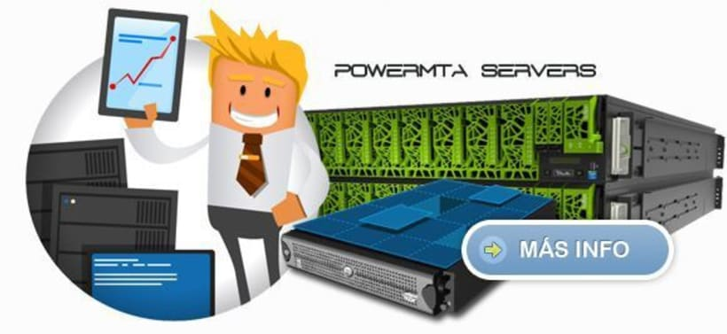 Powermta Server SMTP para Envio de Email Masivo. 1