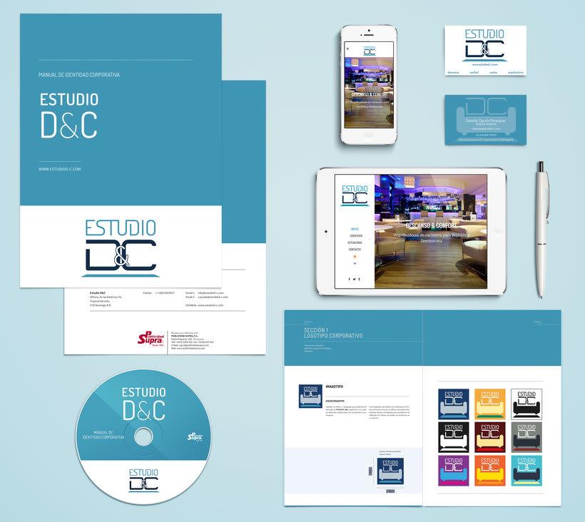 Imagen Corporativa y Web para Estudio D&C 2
