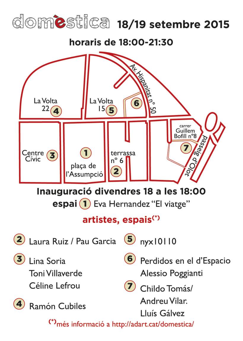 domèstica (mostra d'art itinerant i multidisciplinária, Gironda) 3