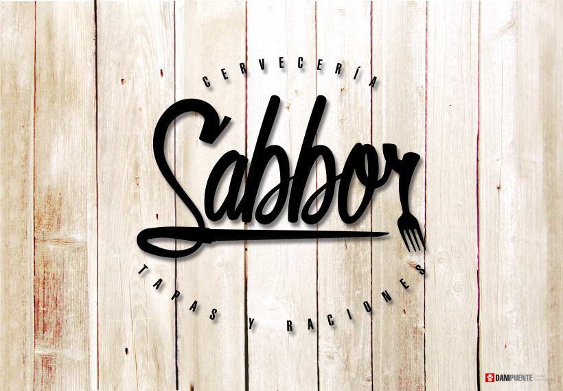 """Marca """"Sabbor"""" bar, cervecería de tapas y raciones. 3"""