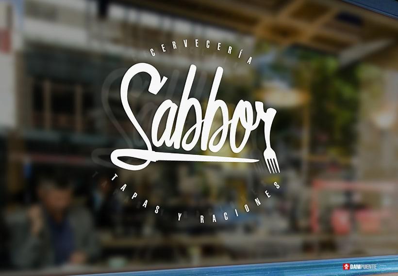 """Marca """"Sabbor"""" bar, cervecería de tapas y raciones. 4"""