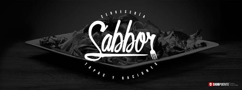 """Marca """"Sabbor"""" bar, cervecería de tapas y raciones. 9"""