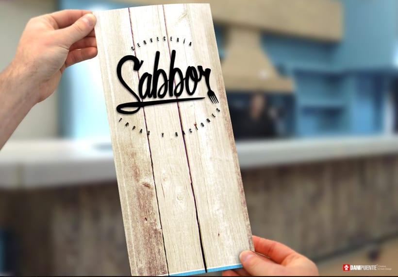 """Marca """"Sabbor"""" bar, cervecería de tapas y raciones. 5"""