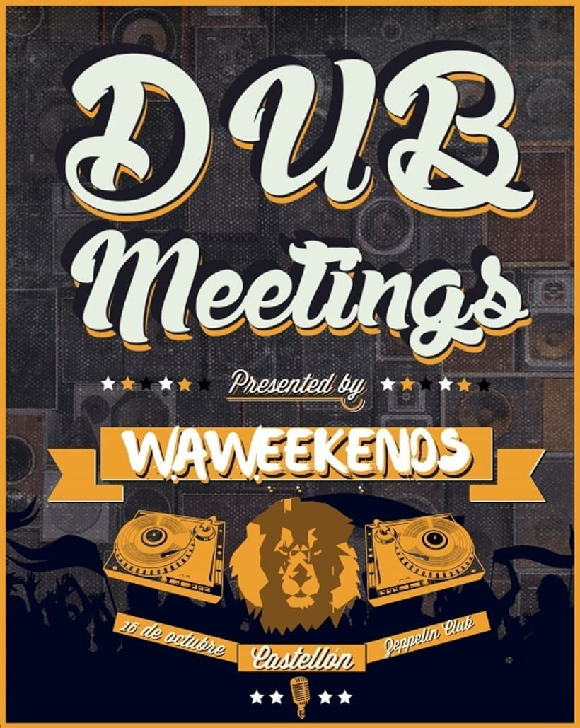 DUB MEETINGS | Waweekends Zeppelin Club -1