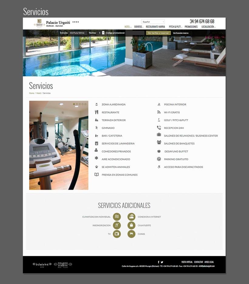 Diseño web: Palacio Urgoiti 4