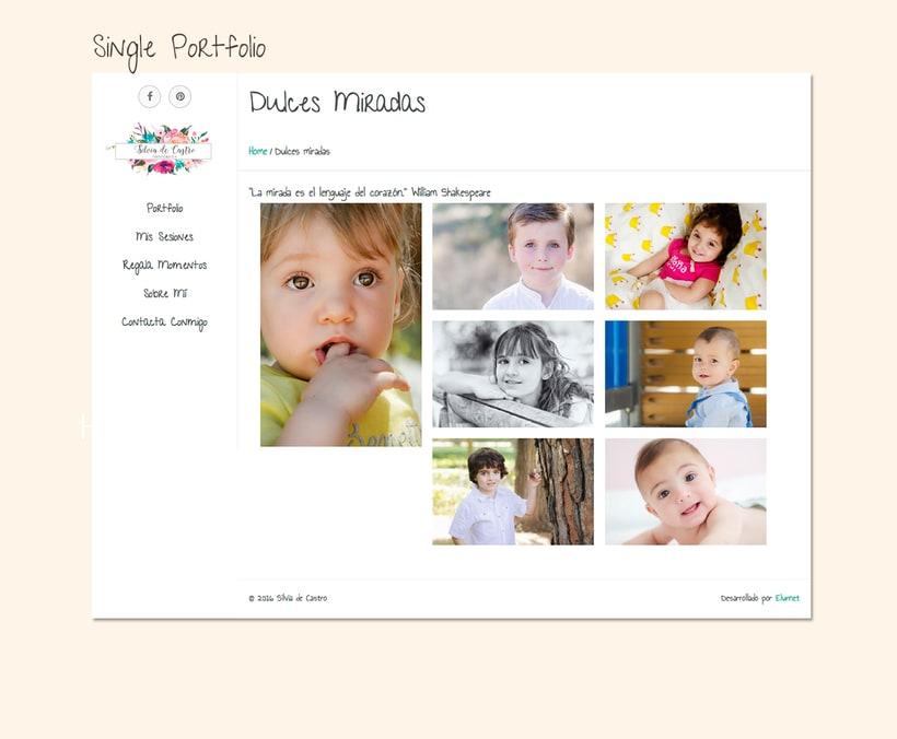 Diseño web: Silvia de Castro 4