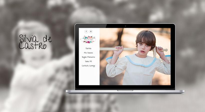 Diseño web: Silvia de Castro 1
