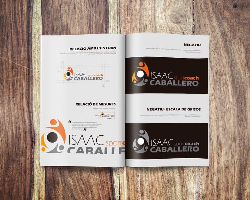 Branding Isaac Caballero SportCoach 1