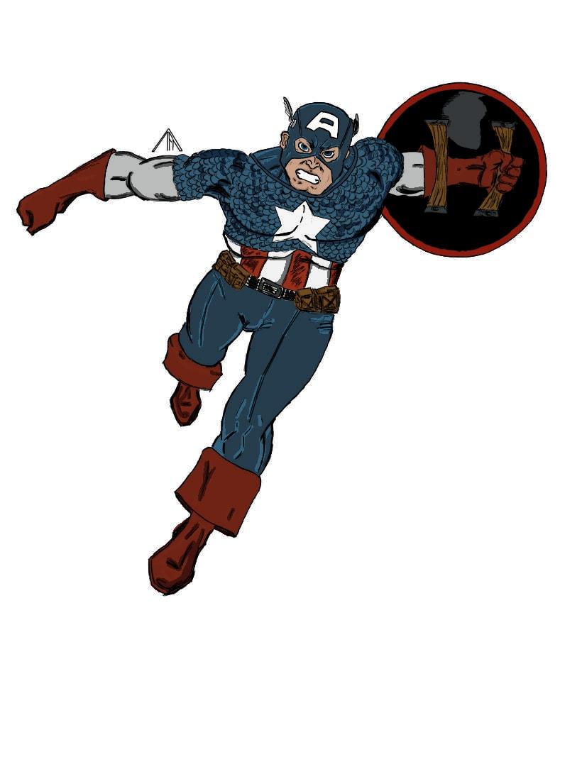 Capitán América moderno 0