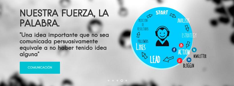 Diseño & Desarrollo web iMeelZ COMUNICACIÓN 2