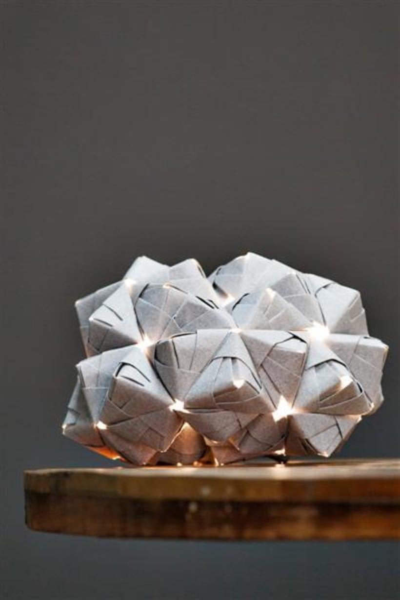 Origami lamps by Cartoncita 7
