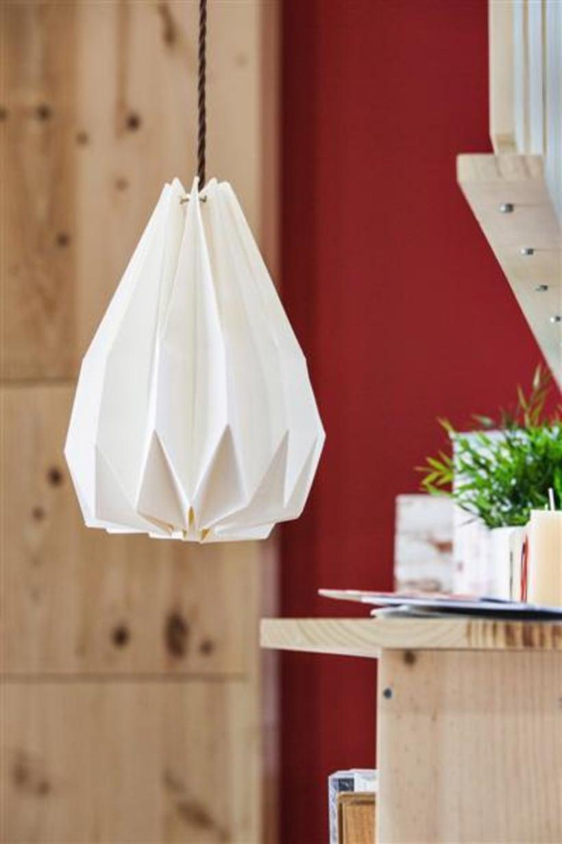 Origami lamps by Cartoncita 10