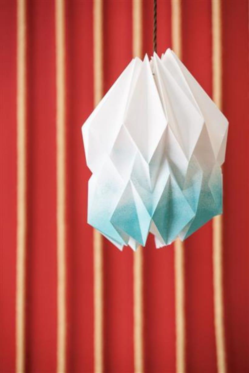 Origami lamps by Cartoncita 12