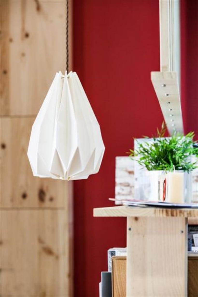 Origami lamps by Cartoncita 16