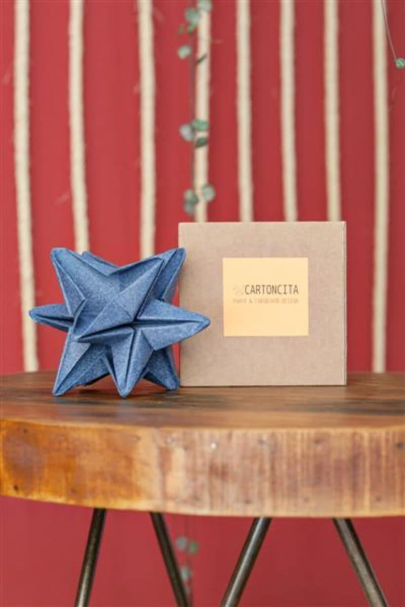 Origami lamps by Cartoncita 21