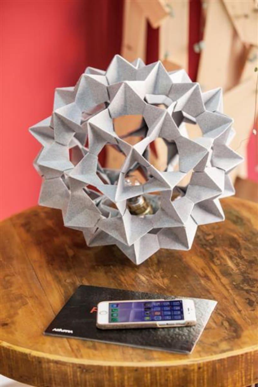 Origami lamps by Cartoncita 32