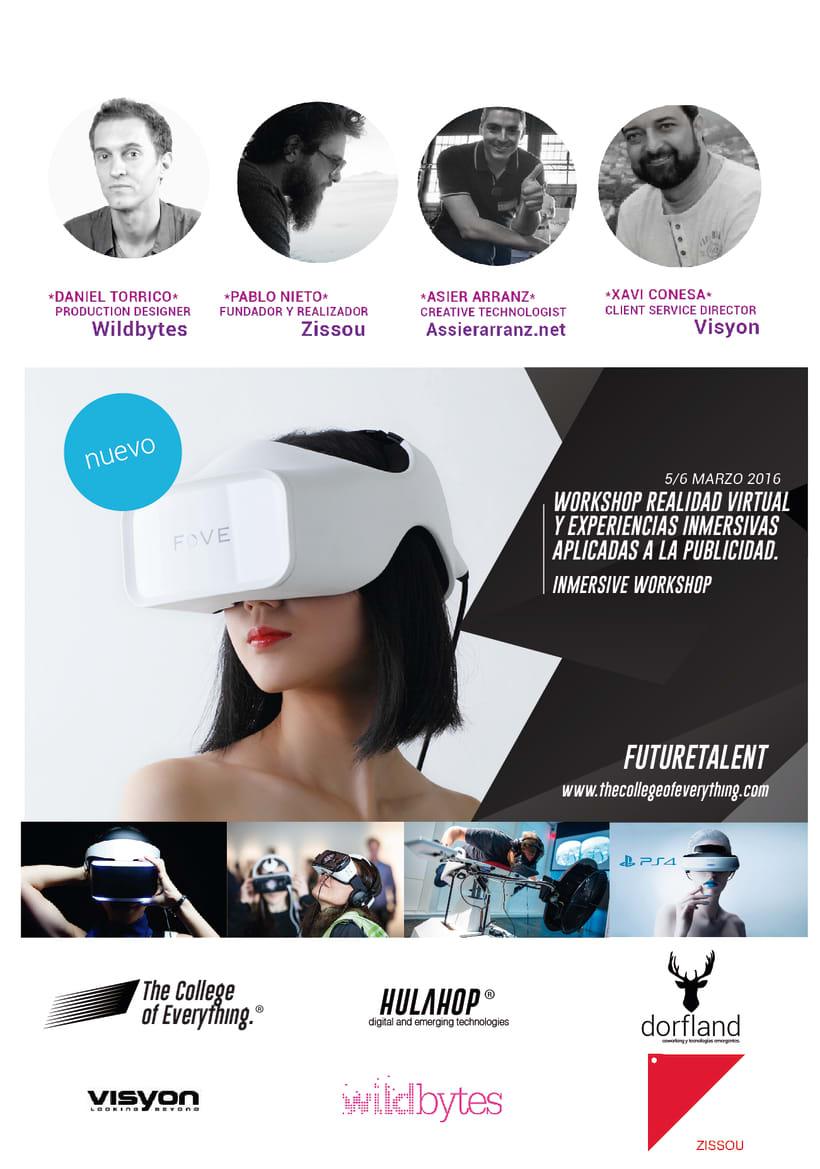 Workshop immersivo  de realidad virtual aplicado la publicidad. 1