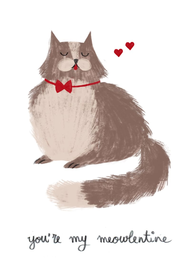 You're my meowlentine 1