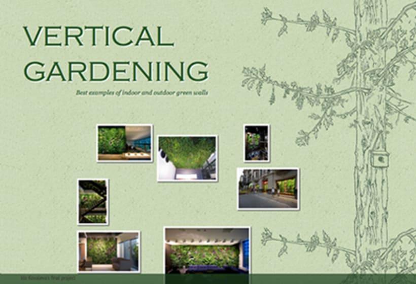una antología de jardin vertical  -1