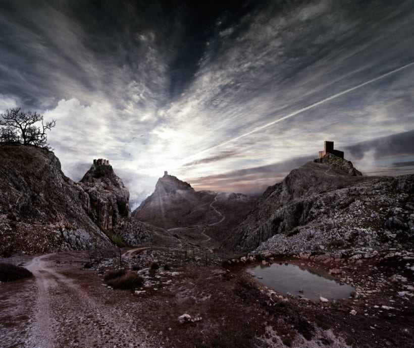 Way to the end. -  Matte Painting -1