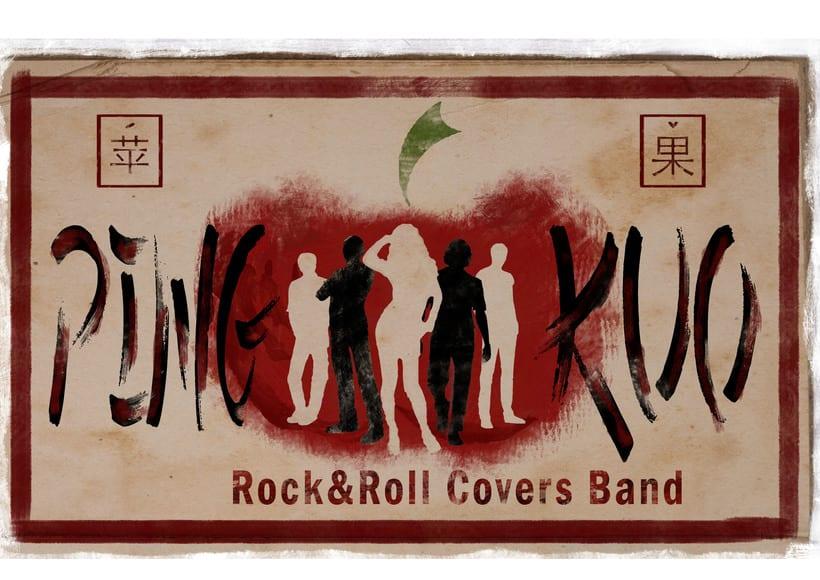 Logo en dos versiones para Covers Band -1