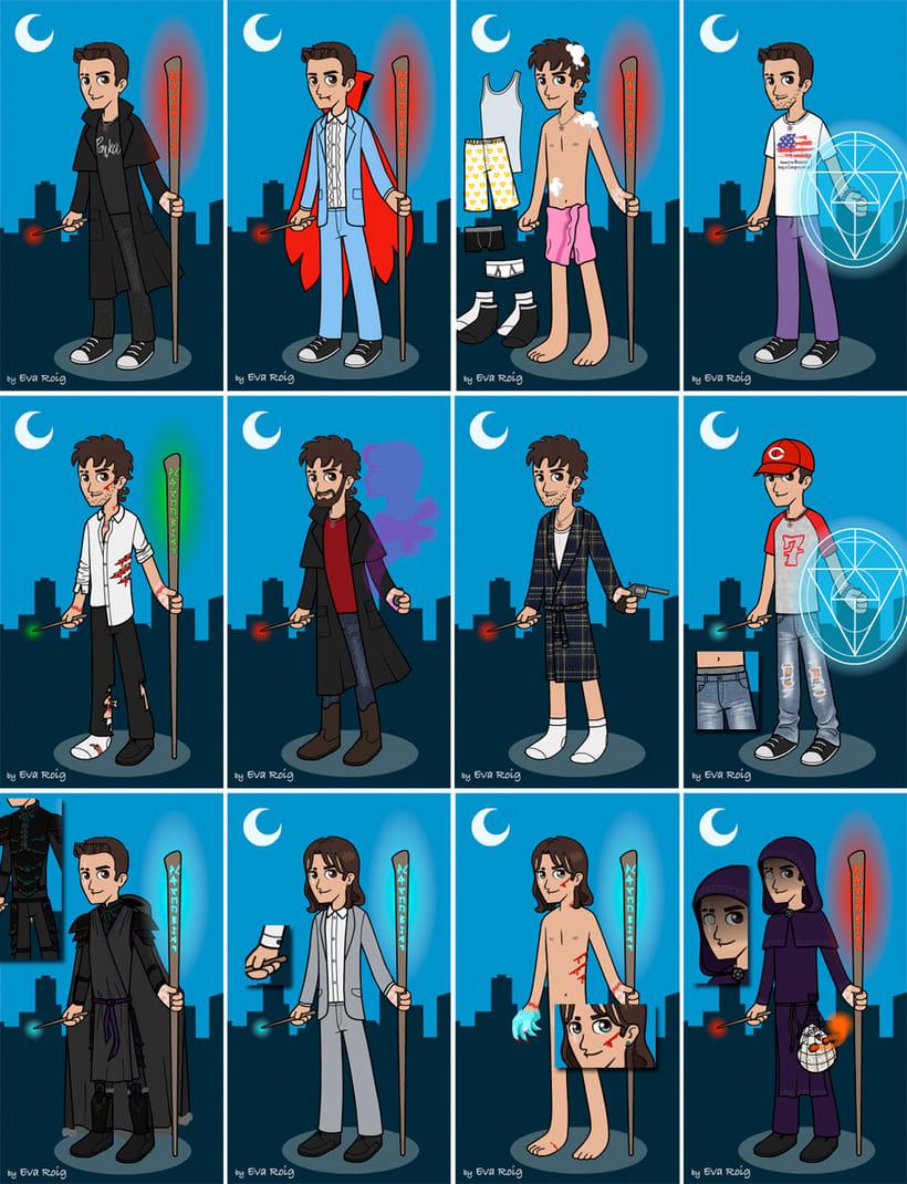 Dress Up Game - Harry Dresden 2