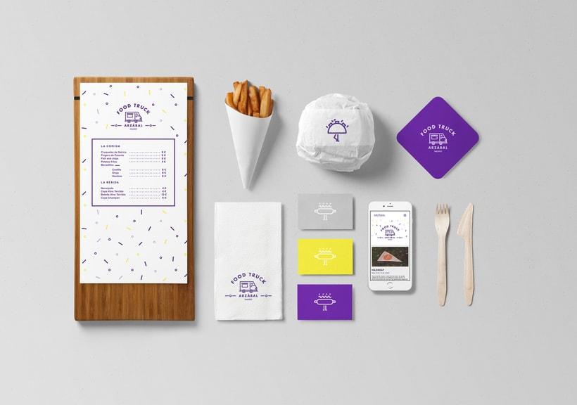 Arzábal Food Truck Branding & Website 6