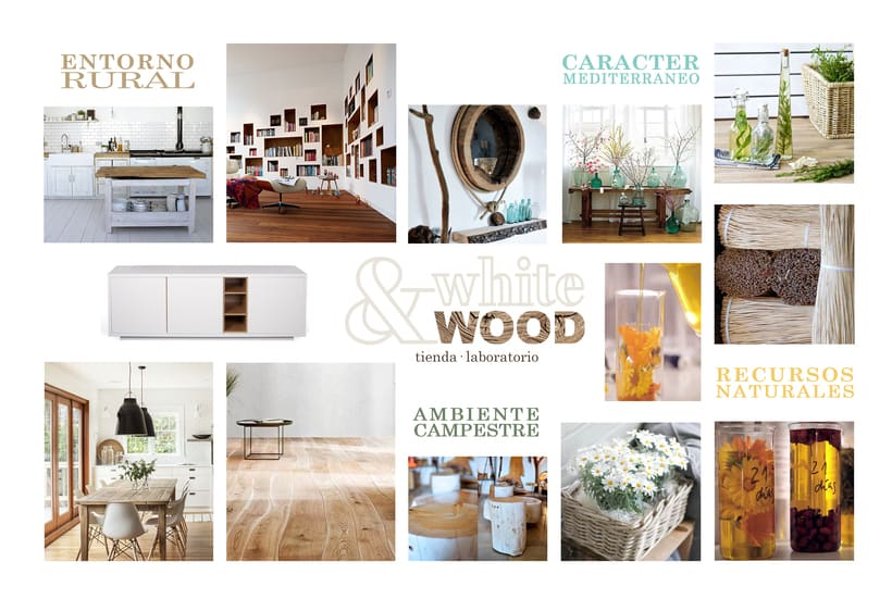 Mood Board Tienda Cosm Tica Natural Domestika