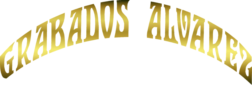 Logotipo actual de Grabados Alvarez 0