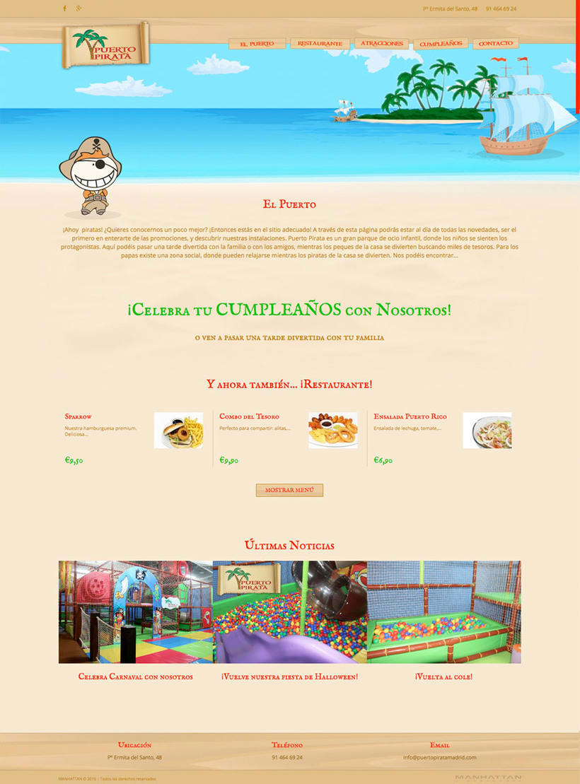 Puerto Pirata - Web 1