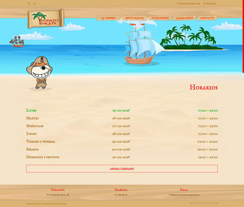 Puerto Pirata - Web 2