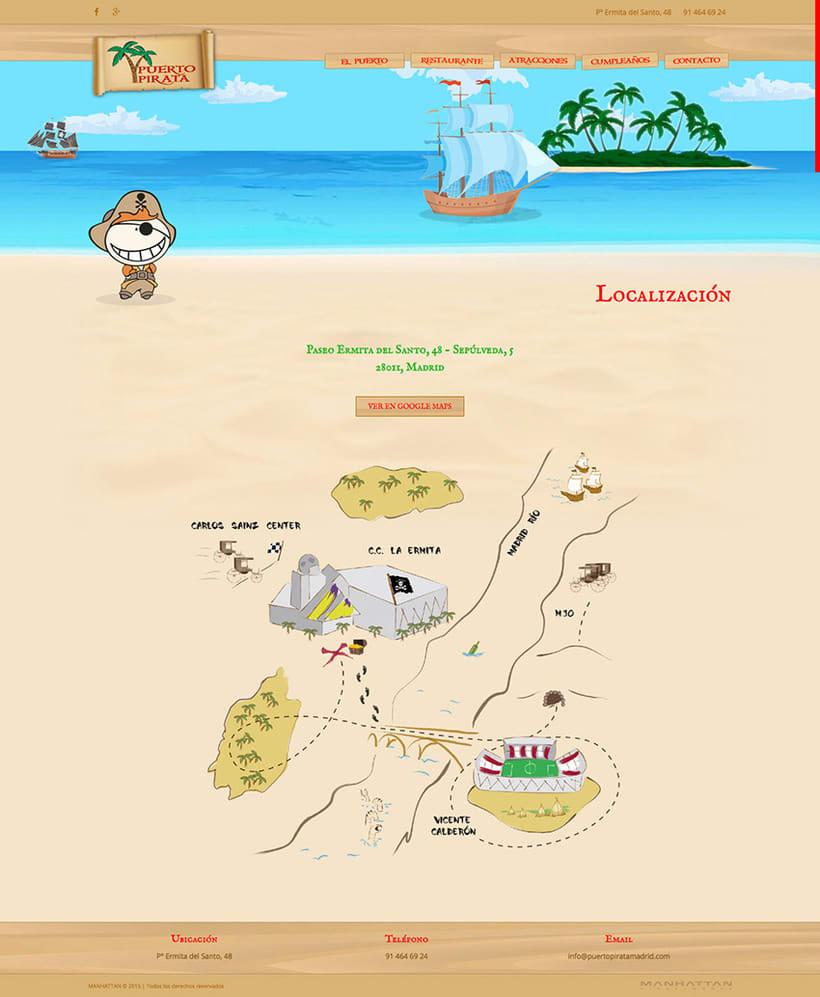 Puerto Pirata - Web 3