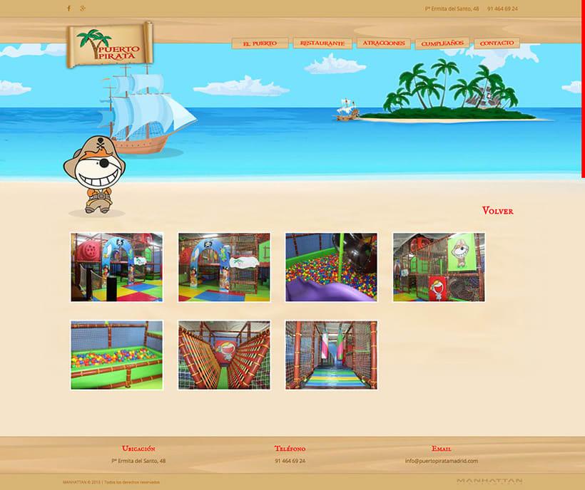 Puerto Pirata - Web 5
