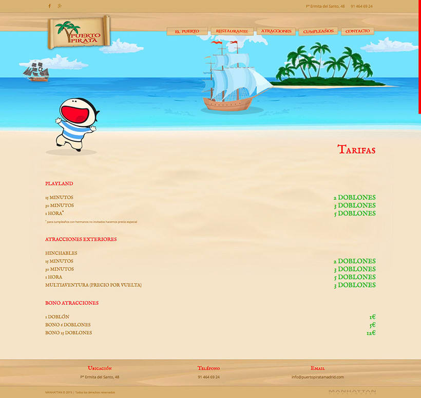 Puerto Pirata - Web 7