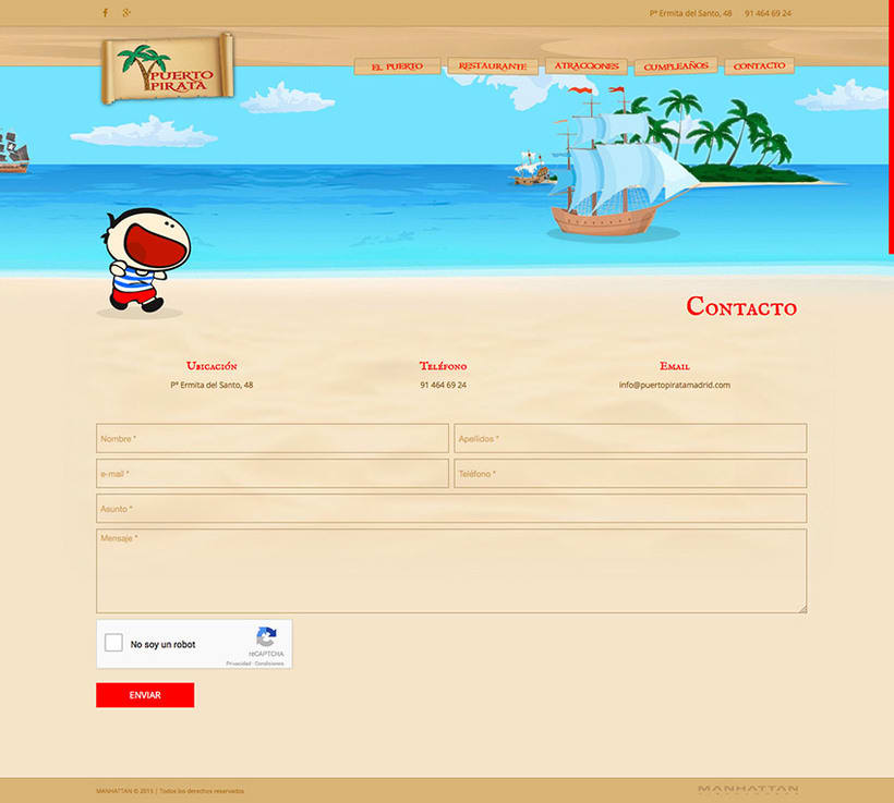 Puerto Pirata - Web 8