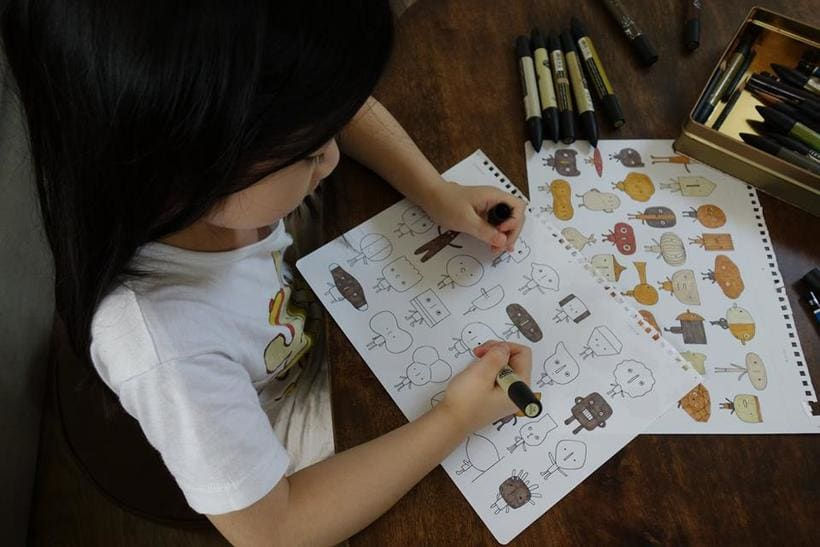 Los muñecos de madera de Yen Jui-Lin 1