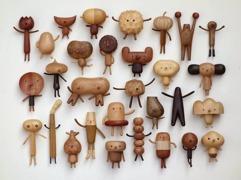 Los muñecos de madera de Yen Jui-Lin 3