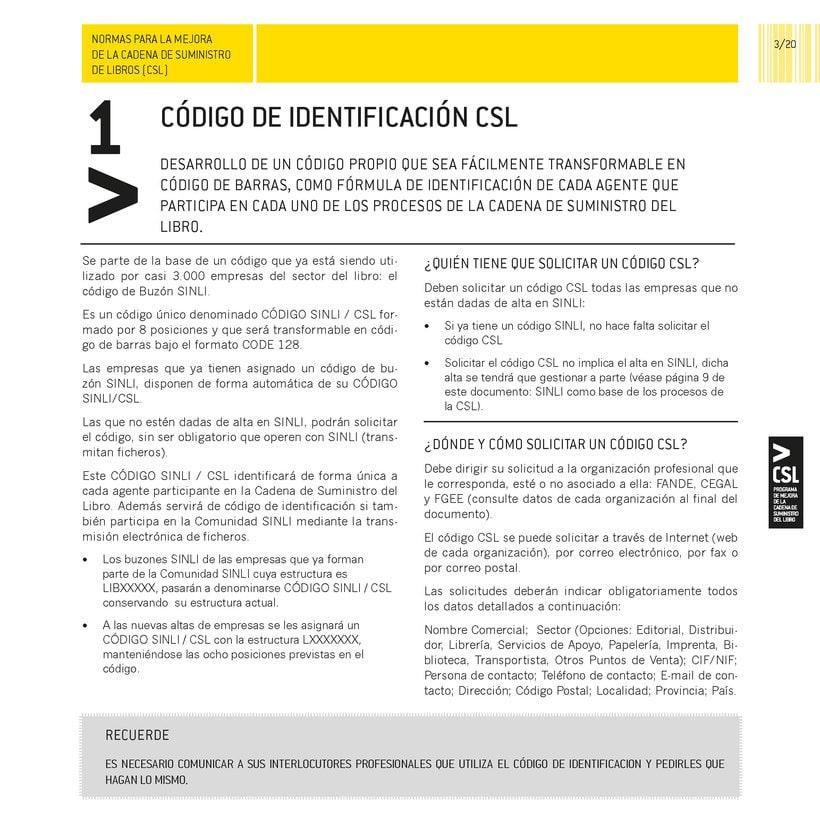 Folleto Normas CSL 0