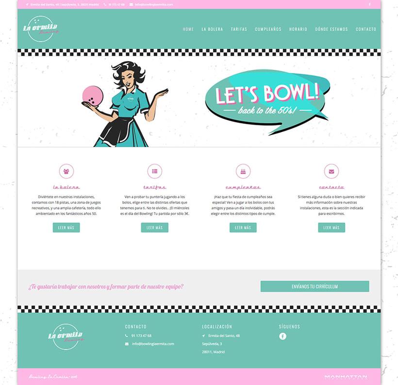 Bowling La Ermita - Web 1