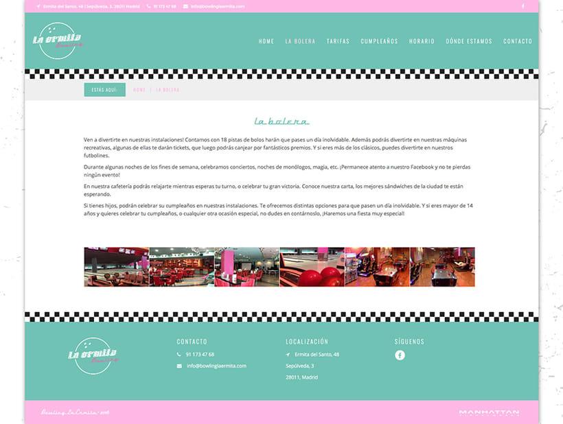 Bowling La Ermita - Web 2
