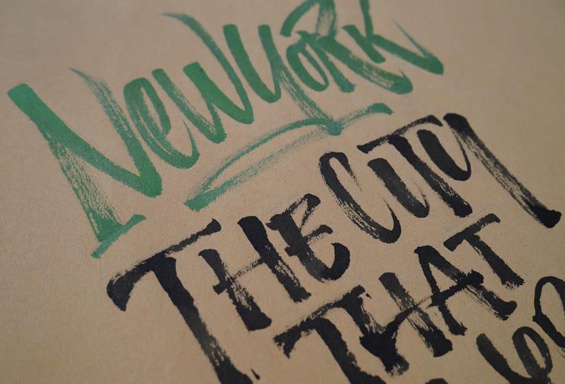 USA - Calligraphy & Lettering Workshop 3